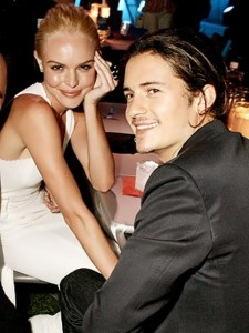 Orlando and Kate Bosworth