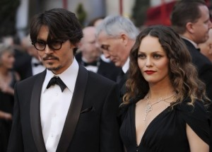 Depp and Vanessa Paradis