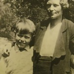 8-year-old Gerald and his mother