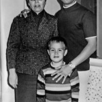 Bruce, his mother and Brandon Lee