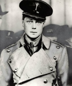 The Prince of Wales as a lieutenant of the Grenadier Guards. 1932