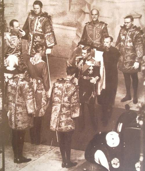 King Edward VIII opens session of parliament on the first and last time. November 3, 1936