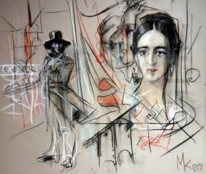 Kopyov Mikhail. Pushkin in love. 2009