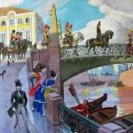 Parkhaev Oleg. Look, look, Pushkin