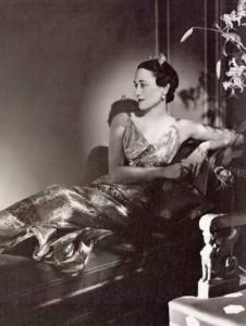 Wallis Simpson. Beloved Woman of the King