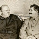Churchill and Joseph Stalin