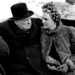 Churchill and his wife