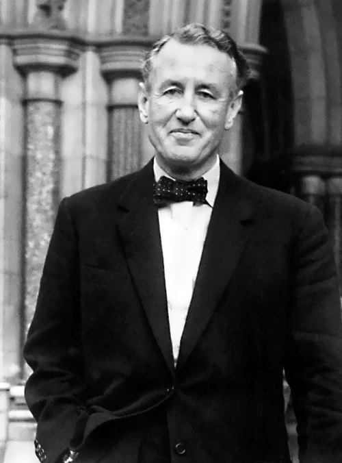 Fleming - author of novels about the superspy