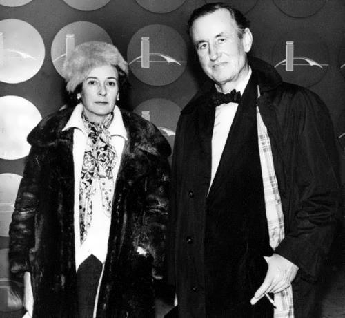 Fleming and his wife