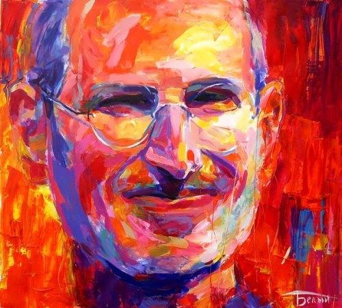 Portrait of S. Jobs