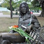 Monument to Lennon in Havana