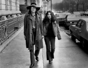 Lennon and Yoko Ono