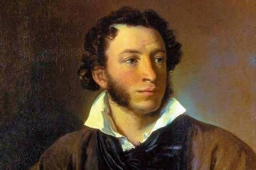 V. A. Tropinin. Portrait of Alexander Pushkin, 1827