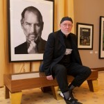 Photographer Albert Watson and portrait of Steve Jobs
