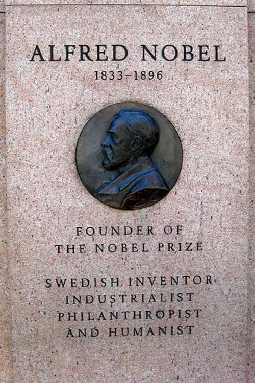 Alfred Nobel – man of peace