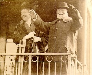 Carnegie and his wife