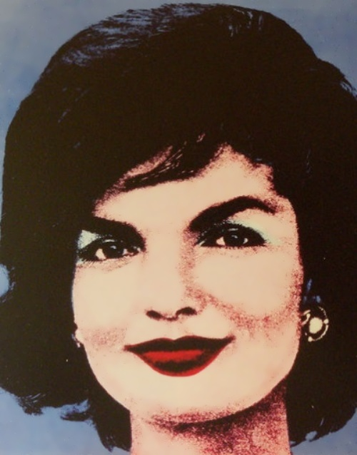 Andy Warhol painted her portrait in a famous pop-art series