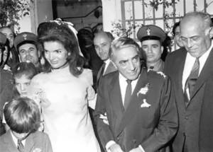 Jacqueline and Aristotle Onassis