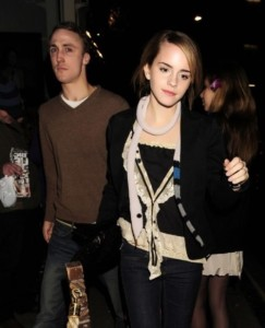 Emma and Jay Barrymore were together from 2008 to 2009