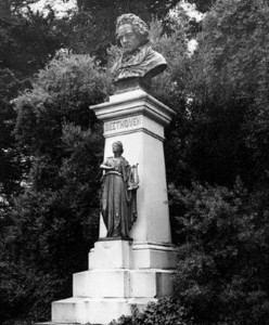 Monument to Beethoven in Golden Gate Park