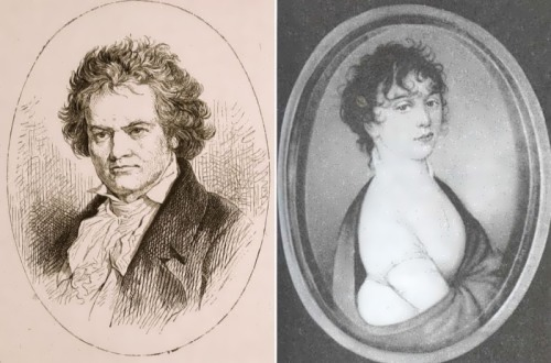 Giulietta Guicciardi and Ludwig van Beethoven