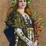 Sarah Bernhardt in Gismonda, by French School