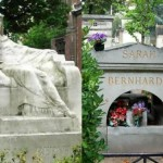 The grave of Bernhardt