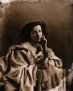 Felix Nadar. Portrait of Sarah Bernhardt