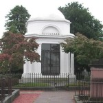 R. Burns Mausoleum in Dumfries