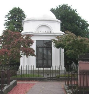 R. Burns Mausoleum in Dumfries