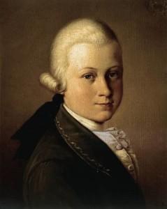 Giuseppe Cignaroli (also known as Fra Felice), Portrait of Mozart