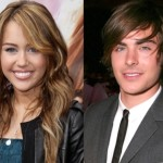 Zac and Miley Cyrus