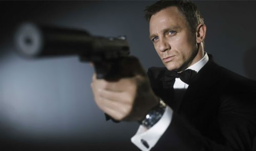 Daniel Craig – Hollywood actor