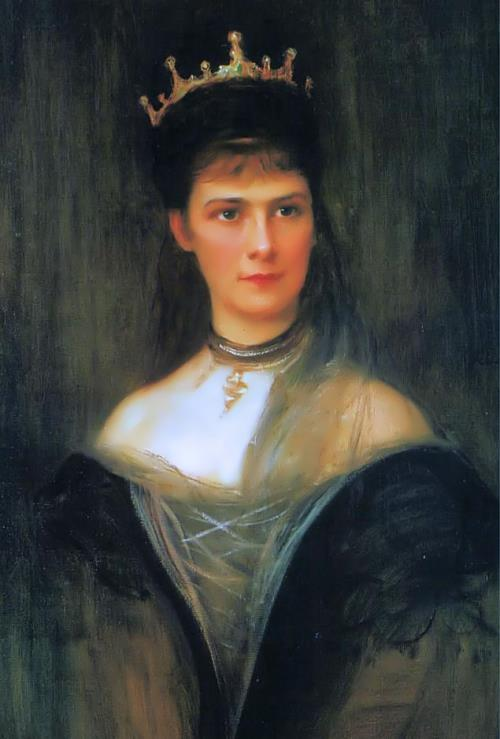 Elisabeth of Bavaria - the future Empress of Austria