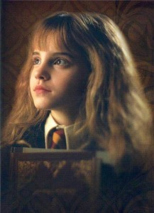 Emma as Hermione Granger