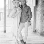 Ava Gardner and Paul Newman, 1972