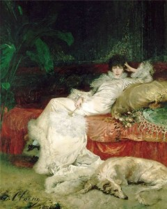 Portrait by Georges Clairin