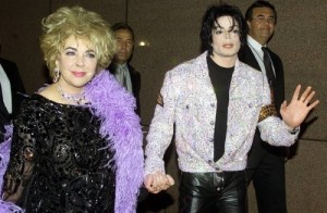 Jackson and Elizabeth Taylor