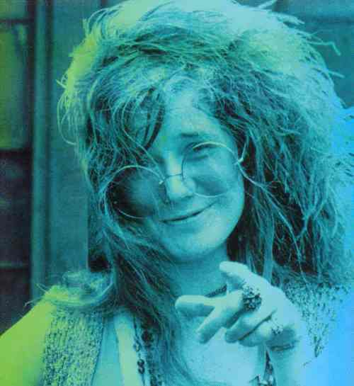 Janis Joplin - great blues singer