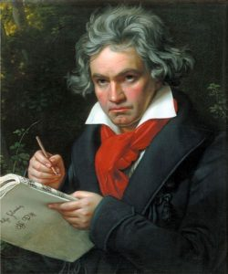 Ludwig van Beethoven – great composer
