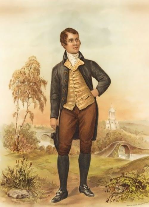 Burns - author of numerous poems