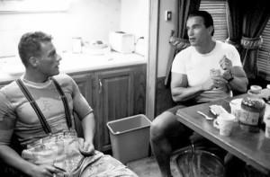 Schwarzenegger and Jean-Claude Van Damme