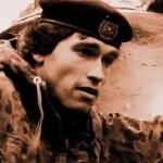 Schwarzenegger in the army