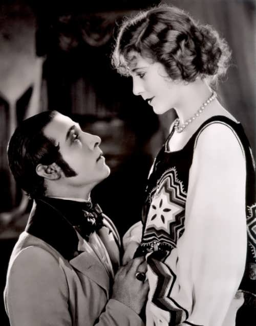 Valentino and Vima Banky in The Eagle directed by Clarence Brown, 1925