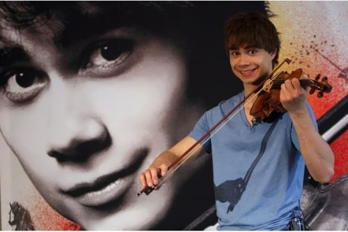 Rybak – violinist and pianist