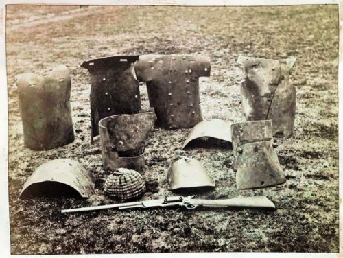 Armor and weapons of the Kelly Gang, captured by police