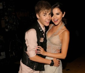 Bieber and Selena Gomez