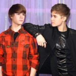 Bieber and his was figure