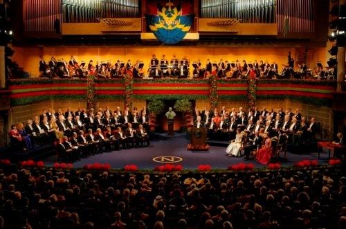 The Nobel Prize Award Ceremony