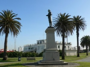 Monument to Captain Cook, St Kilda